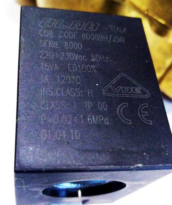 "Клапан электромагнитный 18010-07-45-B н/з 1""1/2 - Фото 7"