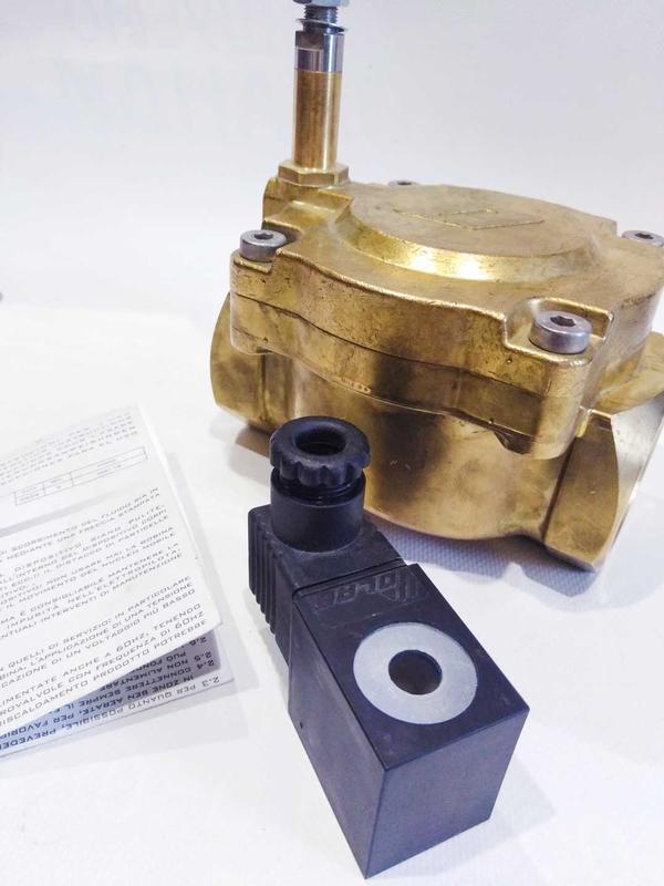 "Клапан электромагнитный 18010-07-45-B н/з 1""1/2 - Фото 9"