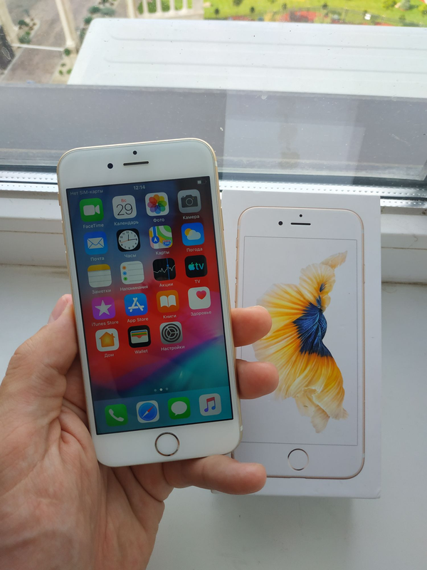 Apple iPhone 6s 16Gb Gold - Фото 2