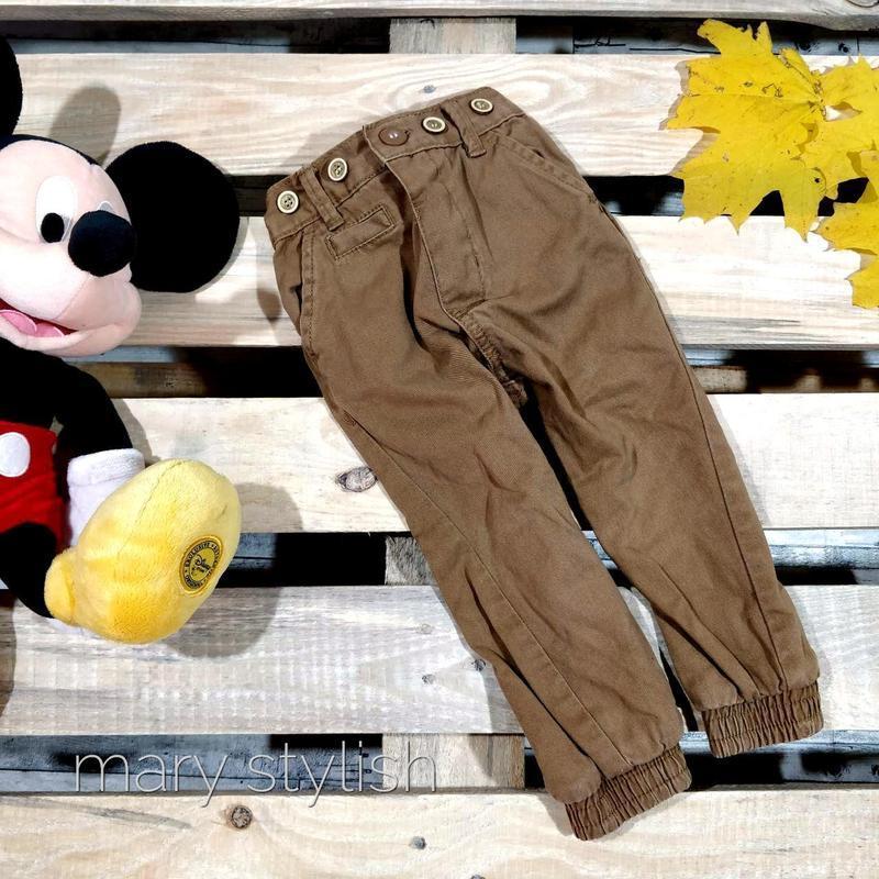 Коричневые штаны