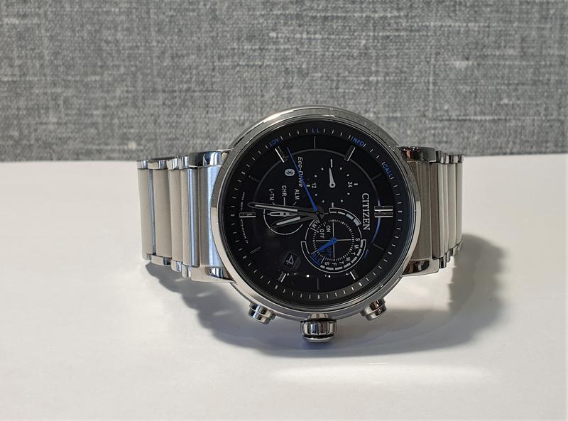 Мужские часы Citizen BZ1001-86E Eco-Drive Bluetooth 45мм 100м - Фото 3