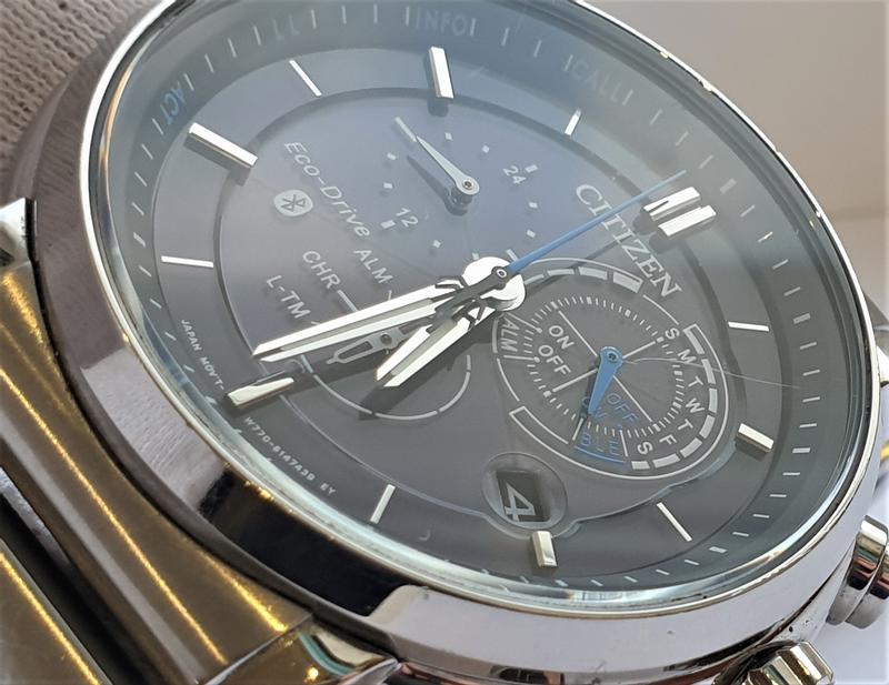 Мужские часы Citizen BZ1001-86E Eco-Drive Bluetooth 45мм 100м