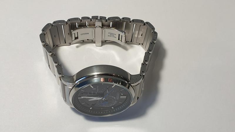 Мужские часы Citizen BZ1001-86E Eco-Drive Bluetooth 45мм 100м - Фото 5
