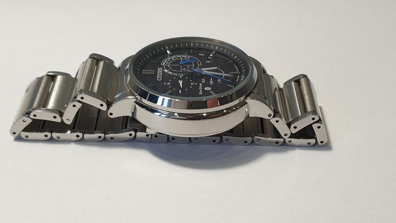 Мужские часы Citizen BZ1001-86E Eco-Drive Bluetooth 45мм 100м - Фото 6