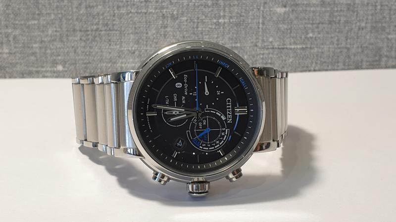 Мужские часы Citizen BZ1001-86E Eco-Drive Bluetooth 45мм 100м - Фото 9
