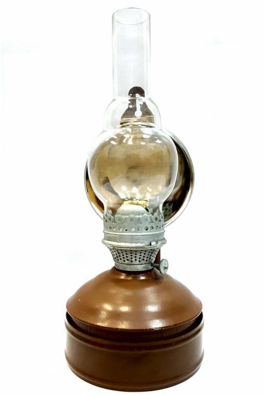 Настенная, настольная керосиновая лампа с отражателем СССР