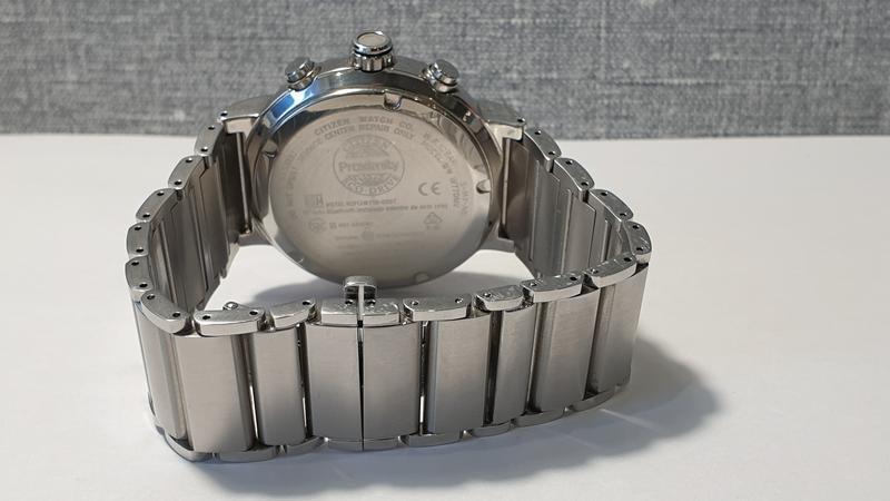 Мужские часы citizen bz1001-86e eco-drive bluetooth 45мм 100м - Фото 7