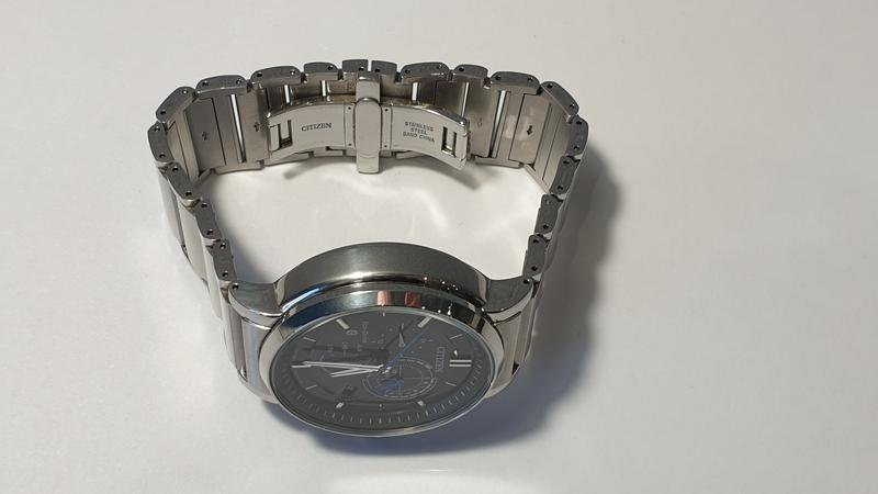 Мужские часы citizen bz1001-86e eco-drive bluetooth 45мм 100м - Фото 8
