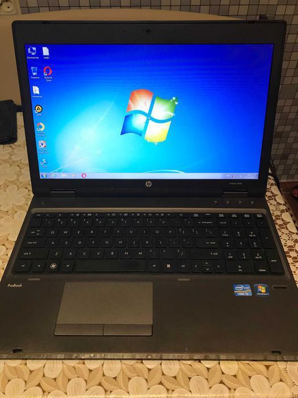 Ноутбук HP Probook 6560b/ процесор i3-2350м /5 Gb DDR3/ 200 HDD