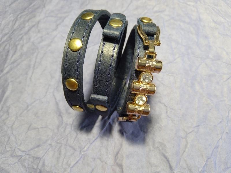 Кожаный ремешок для женских часов