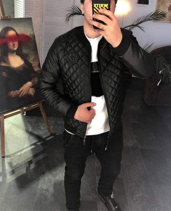 Куртка Бомбер Philipp Plein : - Фото 2