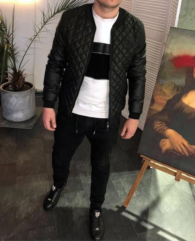 Куртка Бомбер Philipp Plein : - Фото 3