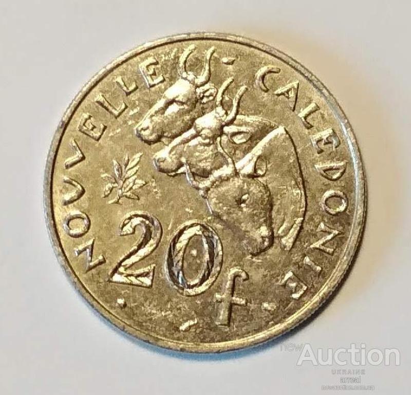 Новая Каледония 20 франков 2000