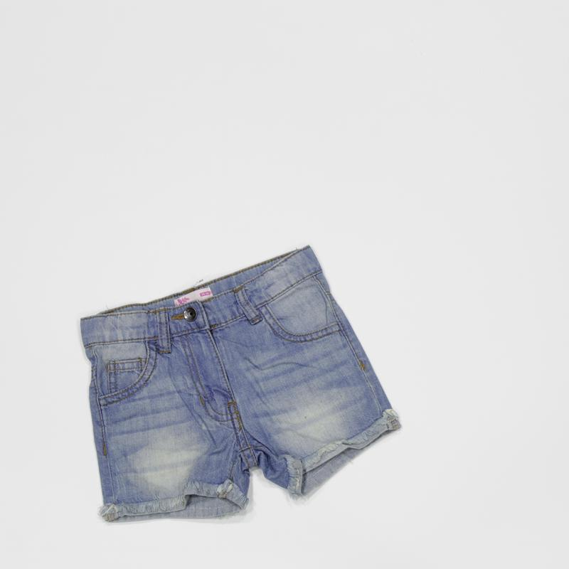 Новые шорты джинсовые голубые рост 86-92