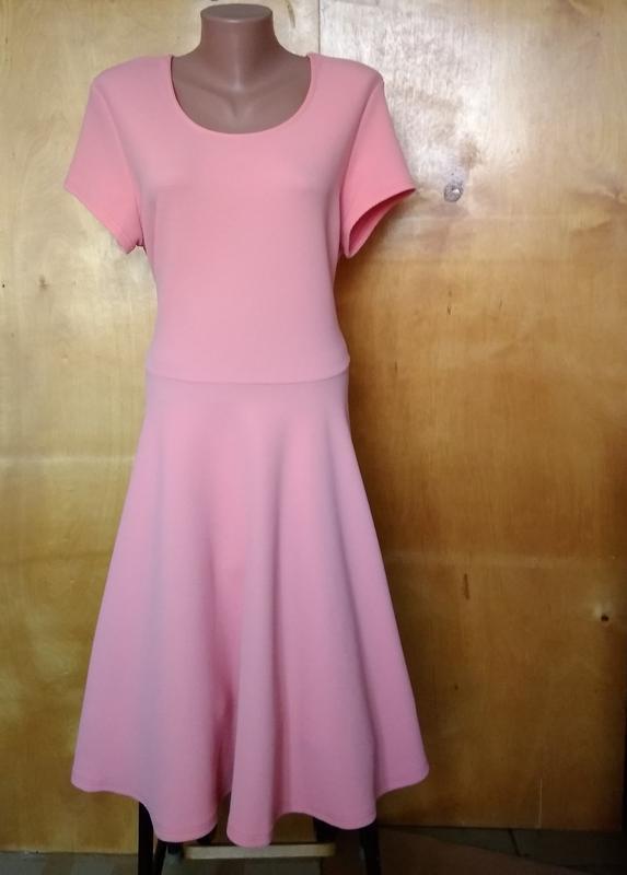 👗 платье платьице плаття сукня персиковое трикотажное ткань ку...