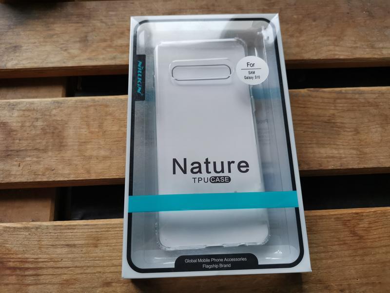 Силиконовый чехол Nillkin Nature для Samsung S10