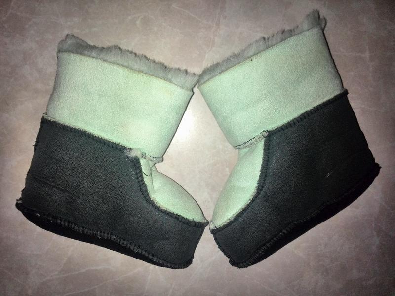 Новые пинетки - сапожки стелька 15см