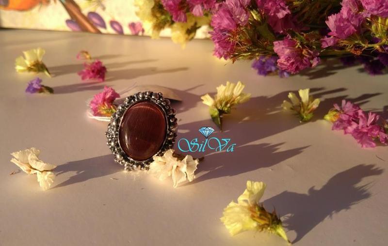 Серебряное кольцо опера