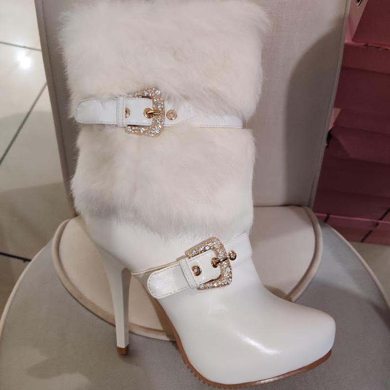 Продам нові весільні ботільони, туфлі (туфли невесты), Кременчук - Фото 3