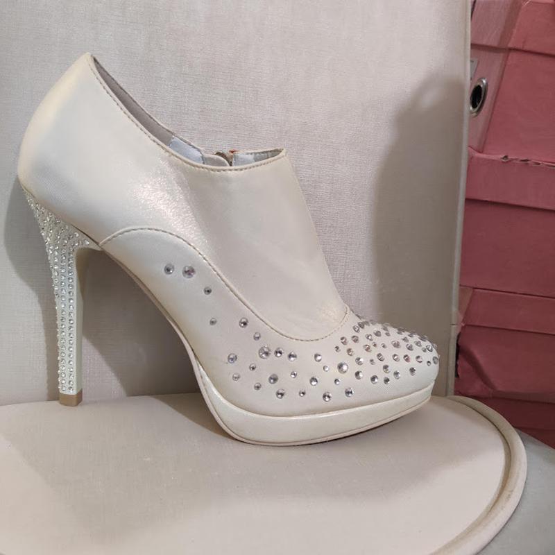 Продам нові весільні ботільони, туфлі (туфли невесты), Кременчук - Фото 2