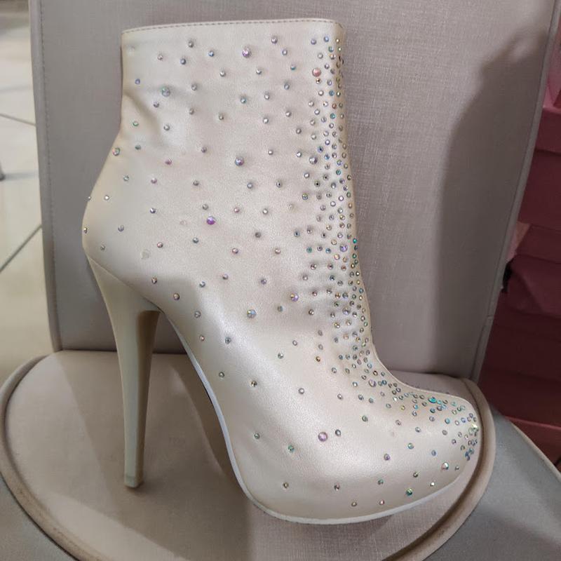 Продам нові весільні ботільони, туфлі (туфли невесты), Кременчук - Фото 4