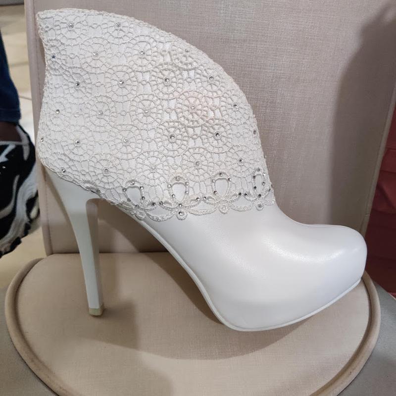 Продам нові весільні ботільони, туфлі (туфли невесты), Кременчук - Фото 9