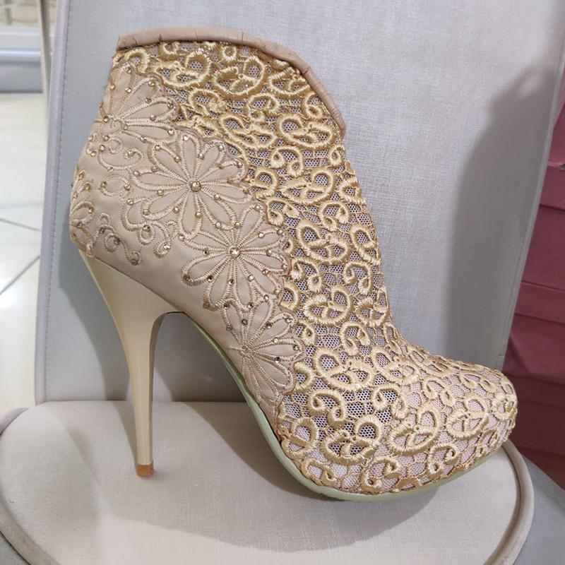 Продам нові весільні ботільони, туфлі (туфли невесты), Кременчук - Фото 10