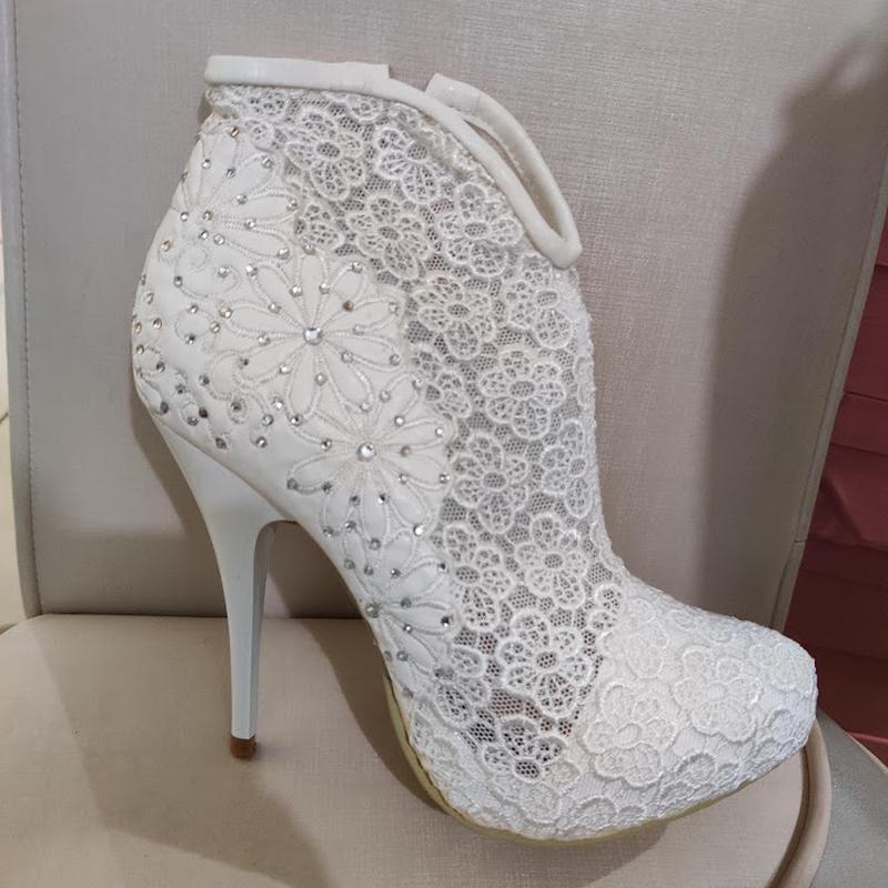 Продам нові весільні ботільони, туфлі (туфли невесты), Кременчук - Фото 8