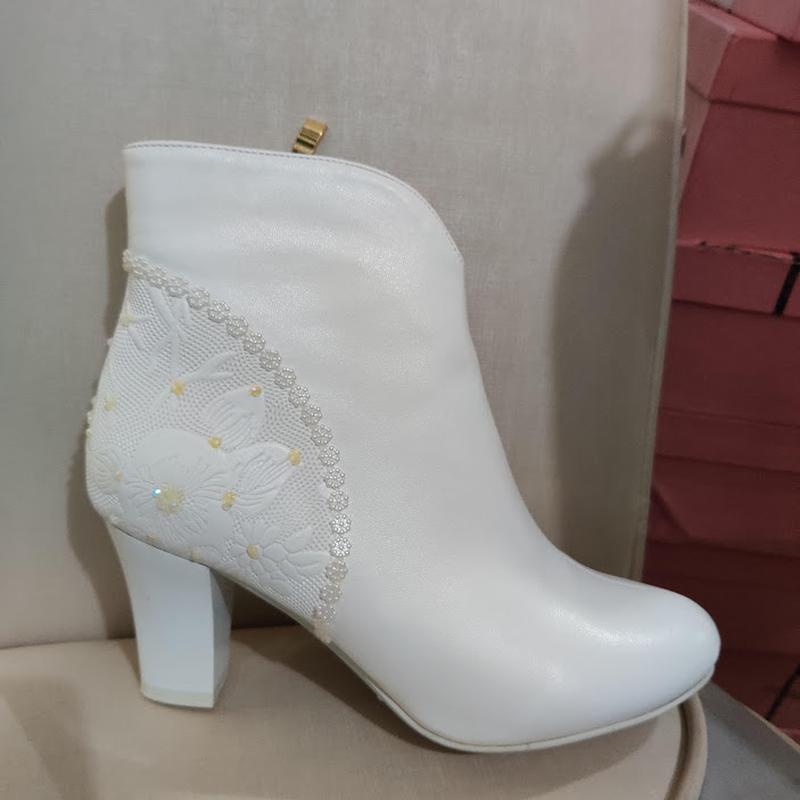 Продам нові весільні ботільони, туфлі (туфли невесты), Кременчук - Фото 13