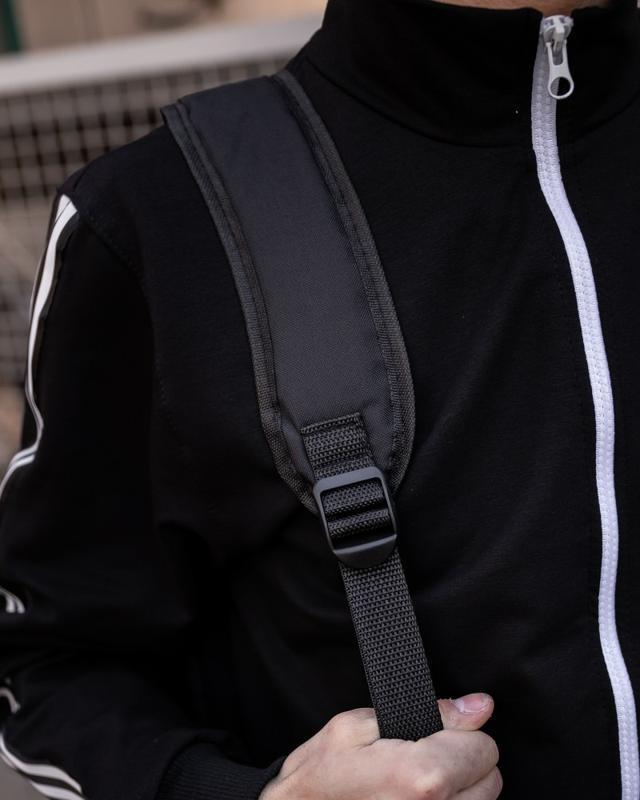 Рюкзак в стиле naruto kanoha черный женский / мужской наруто к... - Фото 4
