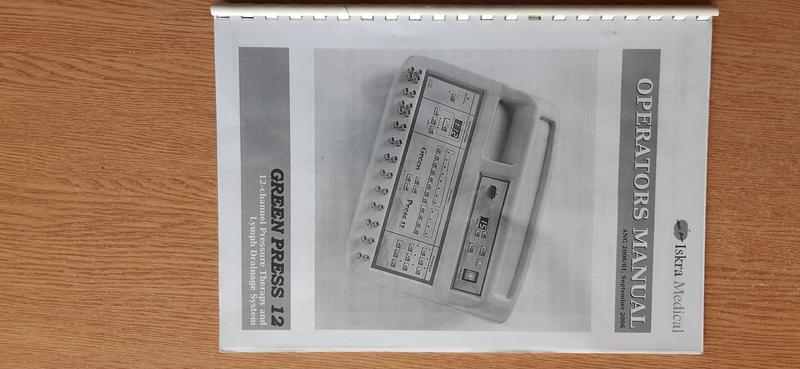 Продам аппарат лимфодренаж Green Press 12 - Фото 2