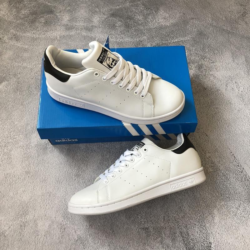 Шикарные мужские кроссовки adidas stan smith white/ black 😍 (в...