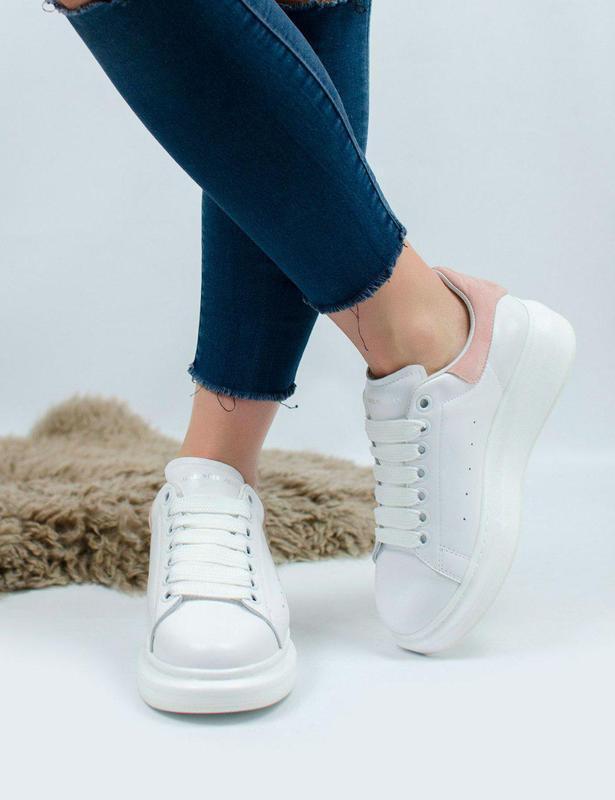 Шикарные женские кроссовки alexander mcqueen 😍 (весна/ лето/ о... - Фото 2