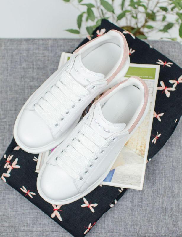 Шикарные женские кроссовки alexander mcqueen 😍 (весна/ лето/ о... - Фото 6