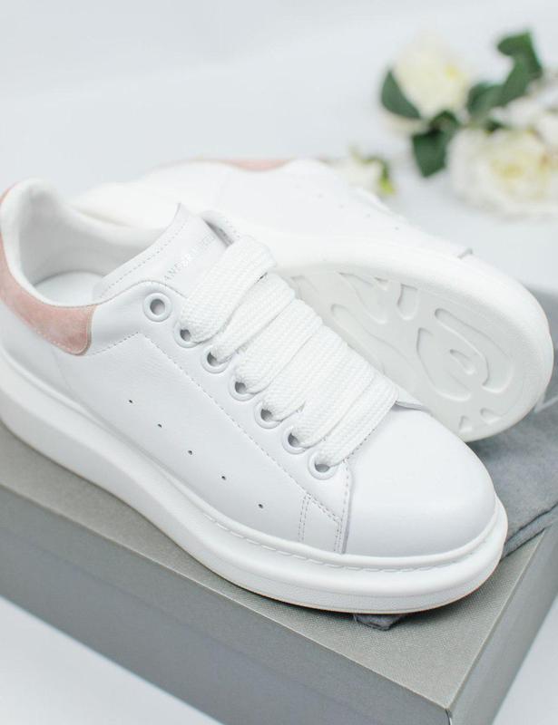 Шикарные женские кроссовки alexander mcqueen 😍 (весна/ лето/ о... - Фото 7