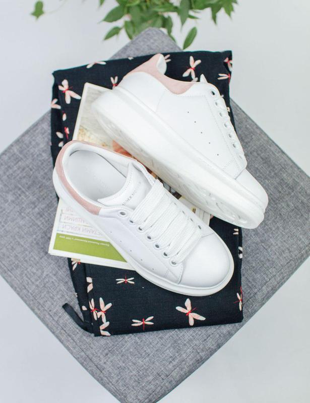 Шикарные женские кроссовки alexander mcqueen 😍 (весна/ лето/ о... - Фото 9