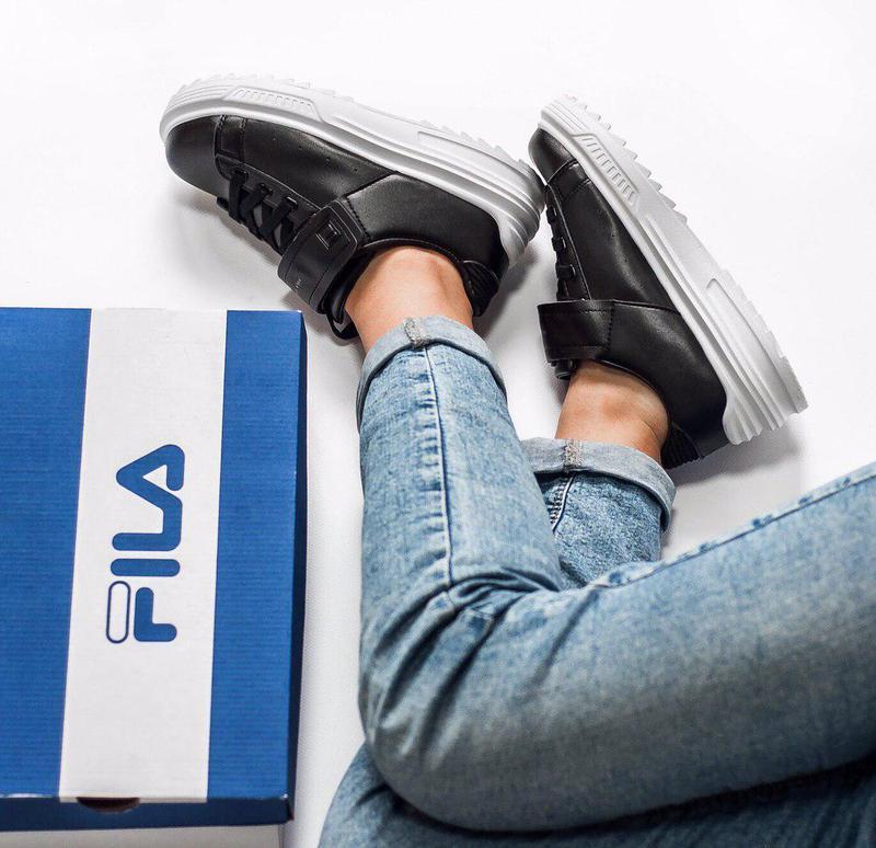 Шикарные женские кроссовки fila limitato 😍 (весна/ лето/ осень) - Фото 9