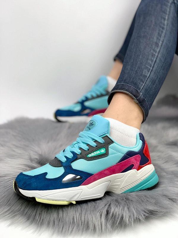 Шикарные женские кроссовки adidas falcon mint blue </p>                     </div>   <!--bof Product URL --> <!--eof Product URL --> <!--bof Quantity Discounts table --> <!--eof Quantity Discounts table --> </div>                        </dd> <dt class=