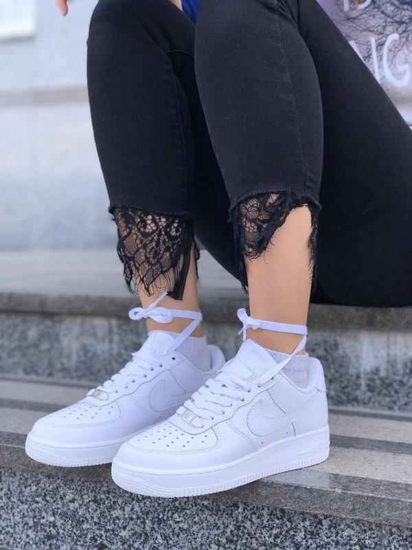 Шикарные женские кроссовки nike air force 1 low white 😍 (весна...