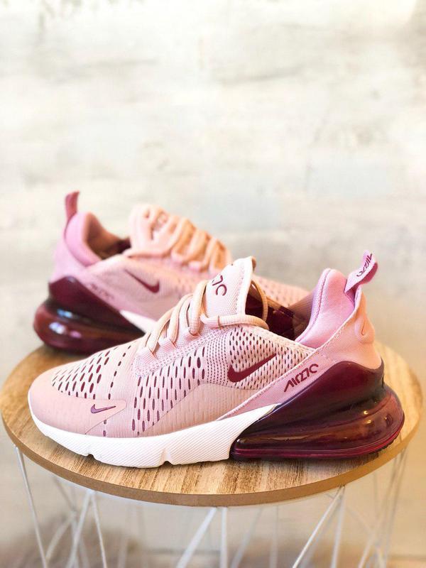 Шикарные женские кроссовки nike air max 270 pink  😍 (весна/ ле... - Фото 2