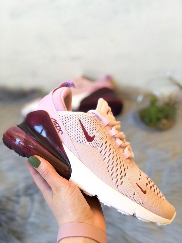 Шикарные женские кроссовки nike air max 270 pink  😍 (весна/ ле... - Фото 3