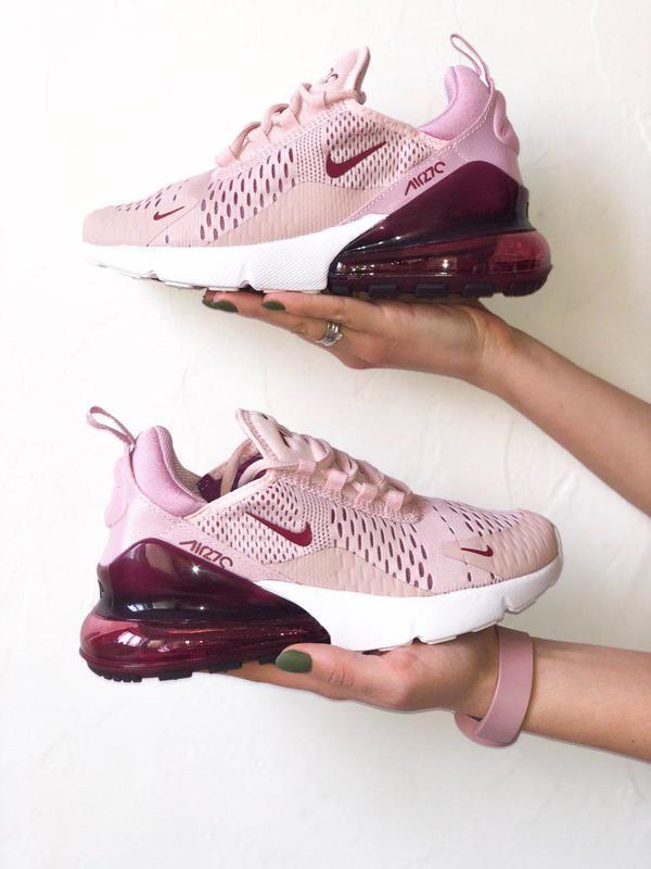 Шикарные женские кроссовки nike air max 270 pink  😍 (весна/ ле... - Фото 4