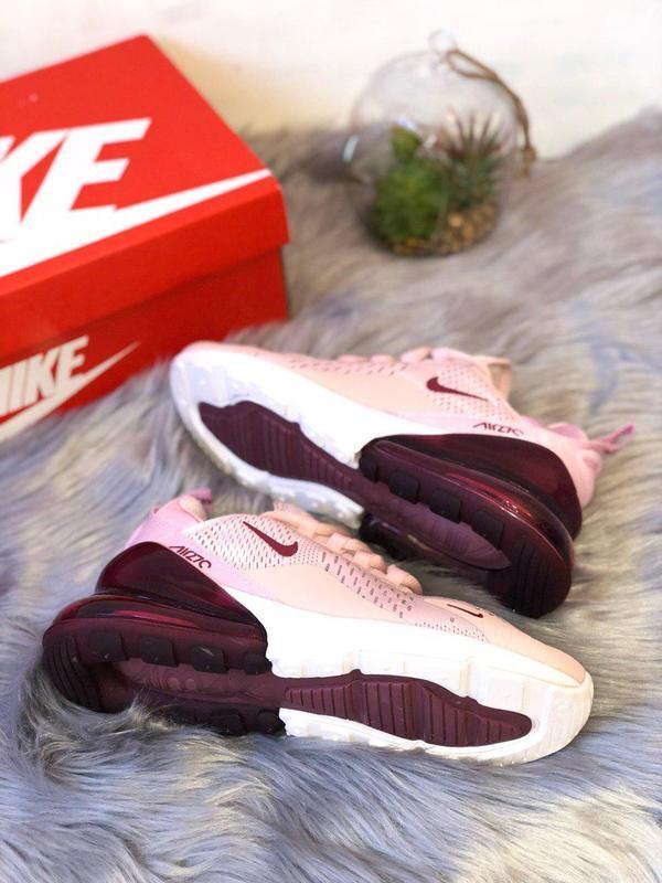 Шикарные женские кроссовки nike air max 270 pink  😍 (весна/ ле... - Фото 7