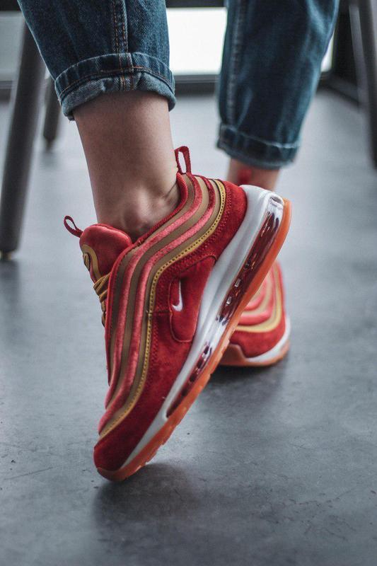 Шикарные женские кроссовки nike air max 97 dusty peach 😍 (весн... - Фото 3