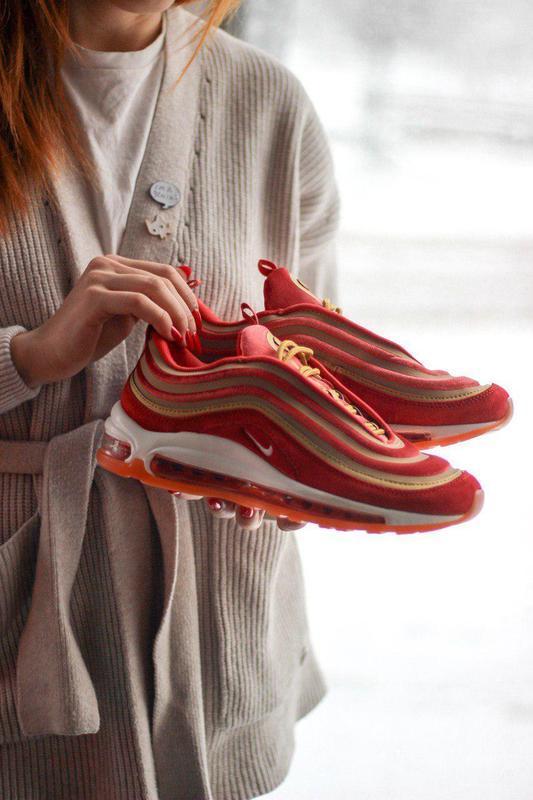Шикарные женские кроссовки nike air max 97 dusty peach 😍 (весн... - Фото 8