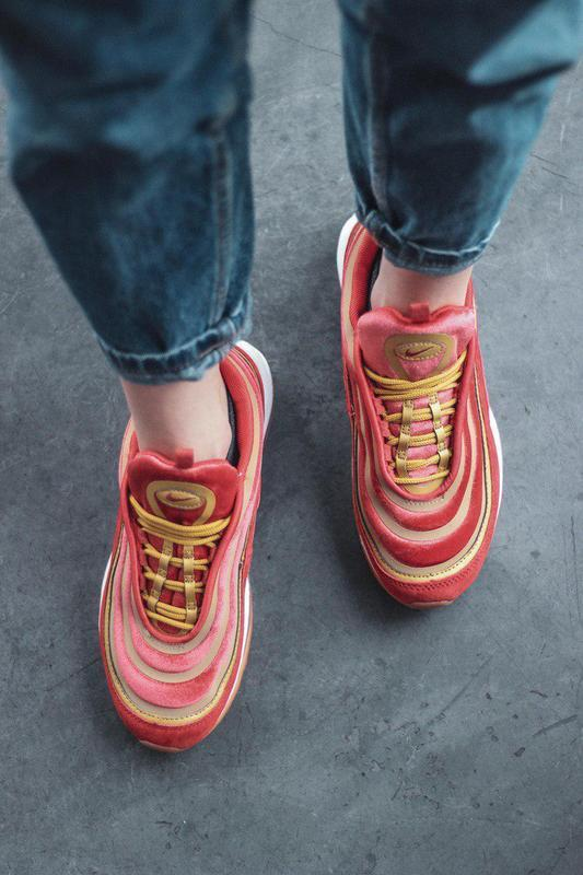 Шикарные женские кроссовки nike air max 97 dusty peach 😍 (весн... - Фото 9
