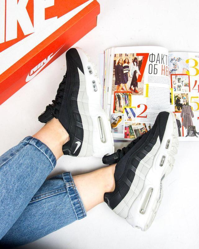 Шикарные женские кроссовки nike air max 95 😍 (весна/ лето/ осень)