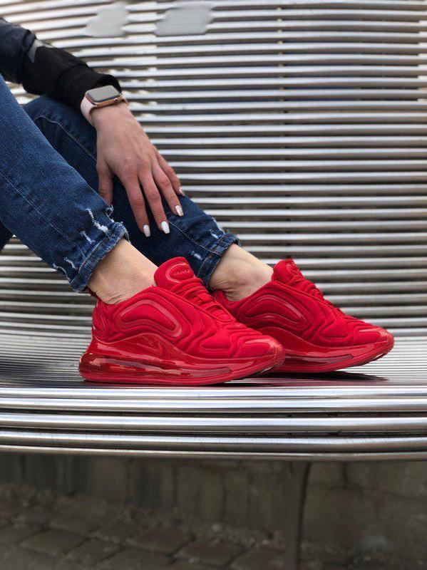 Шикарные кроссовки nike air max 720 red (мужские/ женские), (в...