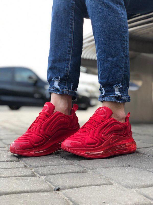 Шикарные кроссовки nike air max 720 red (мужские/ женские), (в... - Фото 3