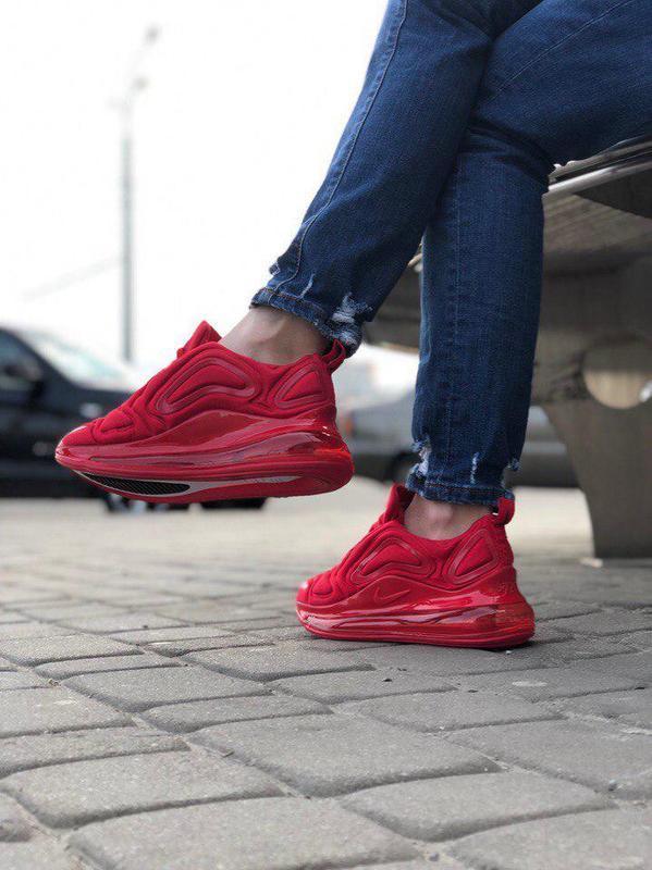 Шикарные кроссовки nike air max 720 red (мужские/ женские), (в... - Фото 4